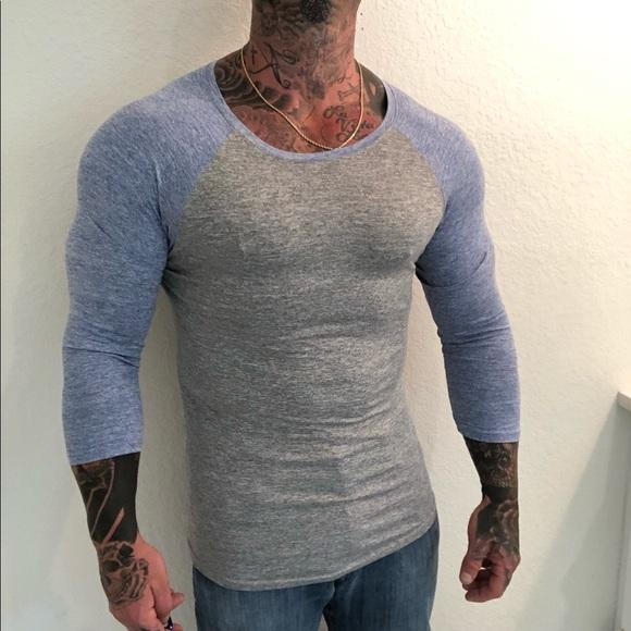 Other - Men's 3/4 sleeve t shirt